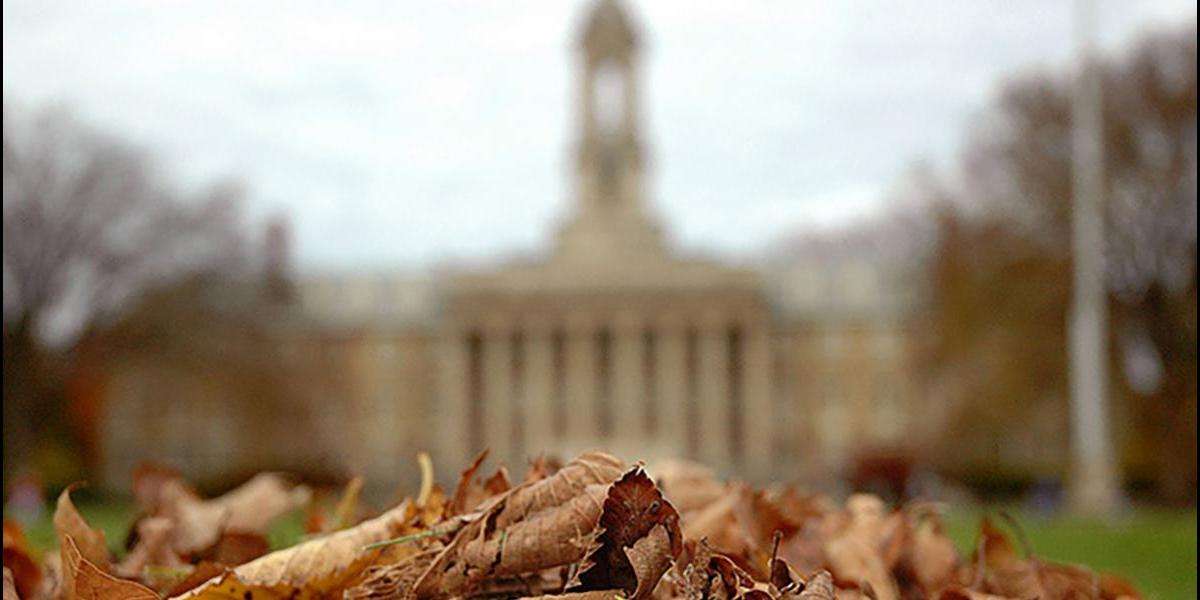 Old Main fall photo