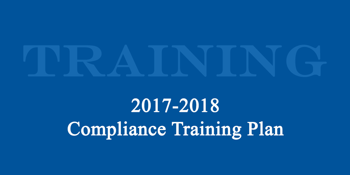 Annual Compliance Training